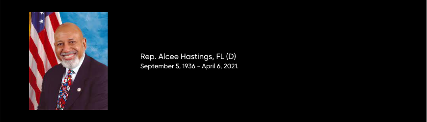 Rep. Alcee Hastings, Fl (d) 870x250